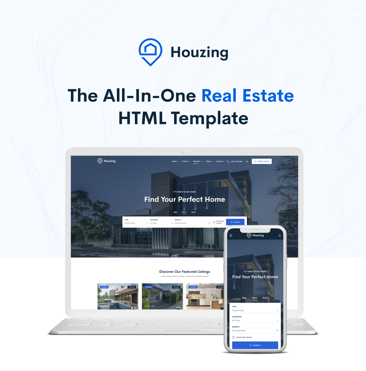 Houzing - Real Estate HTML Template - 2