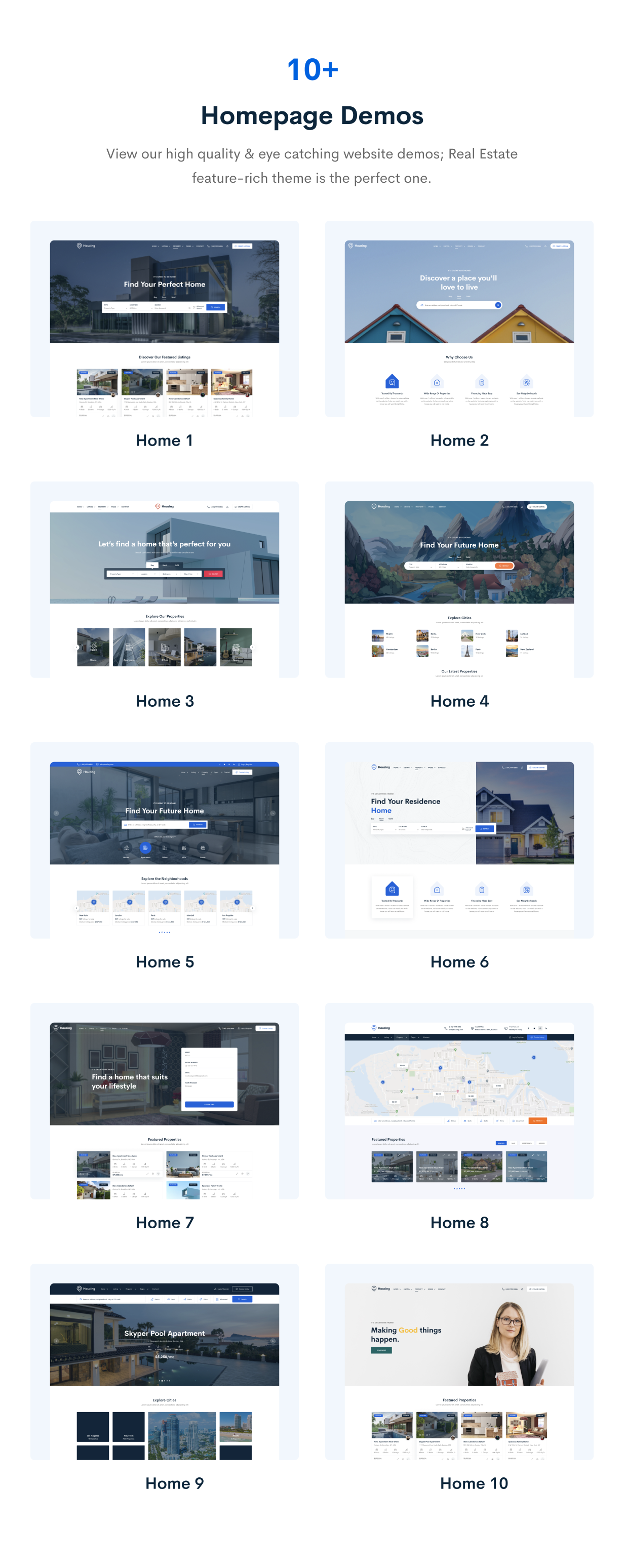 Houzing - Real Estate HTML Template - 3