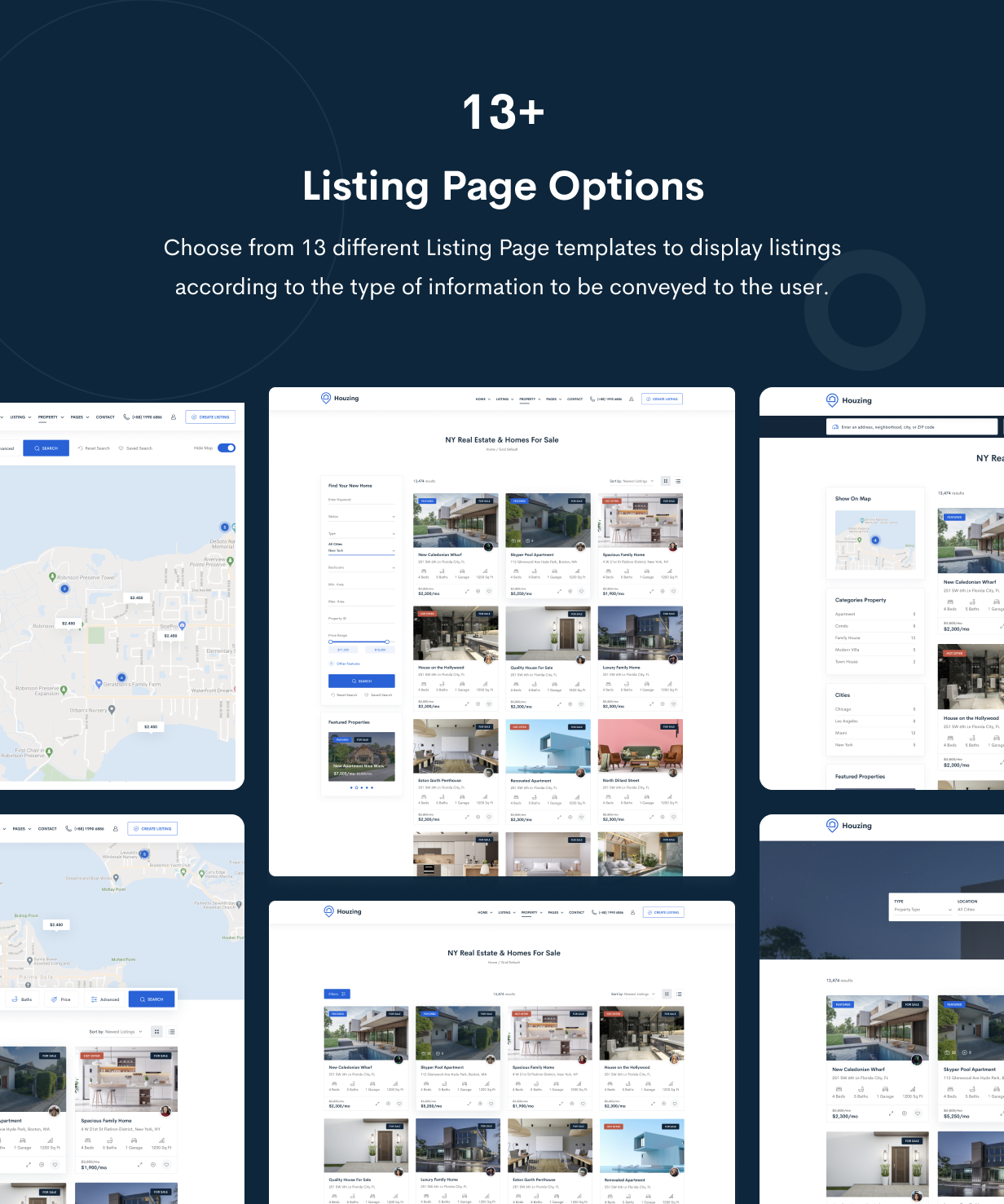 Houzing - Real Estate HTML Template - 5