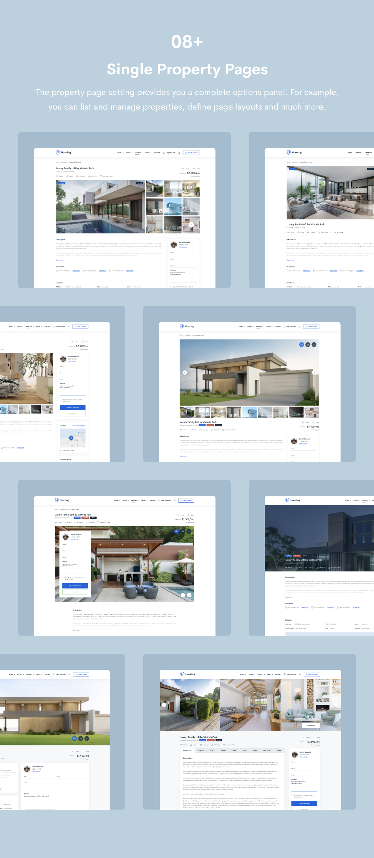 Houzing - Real Estate HTML Template - 6